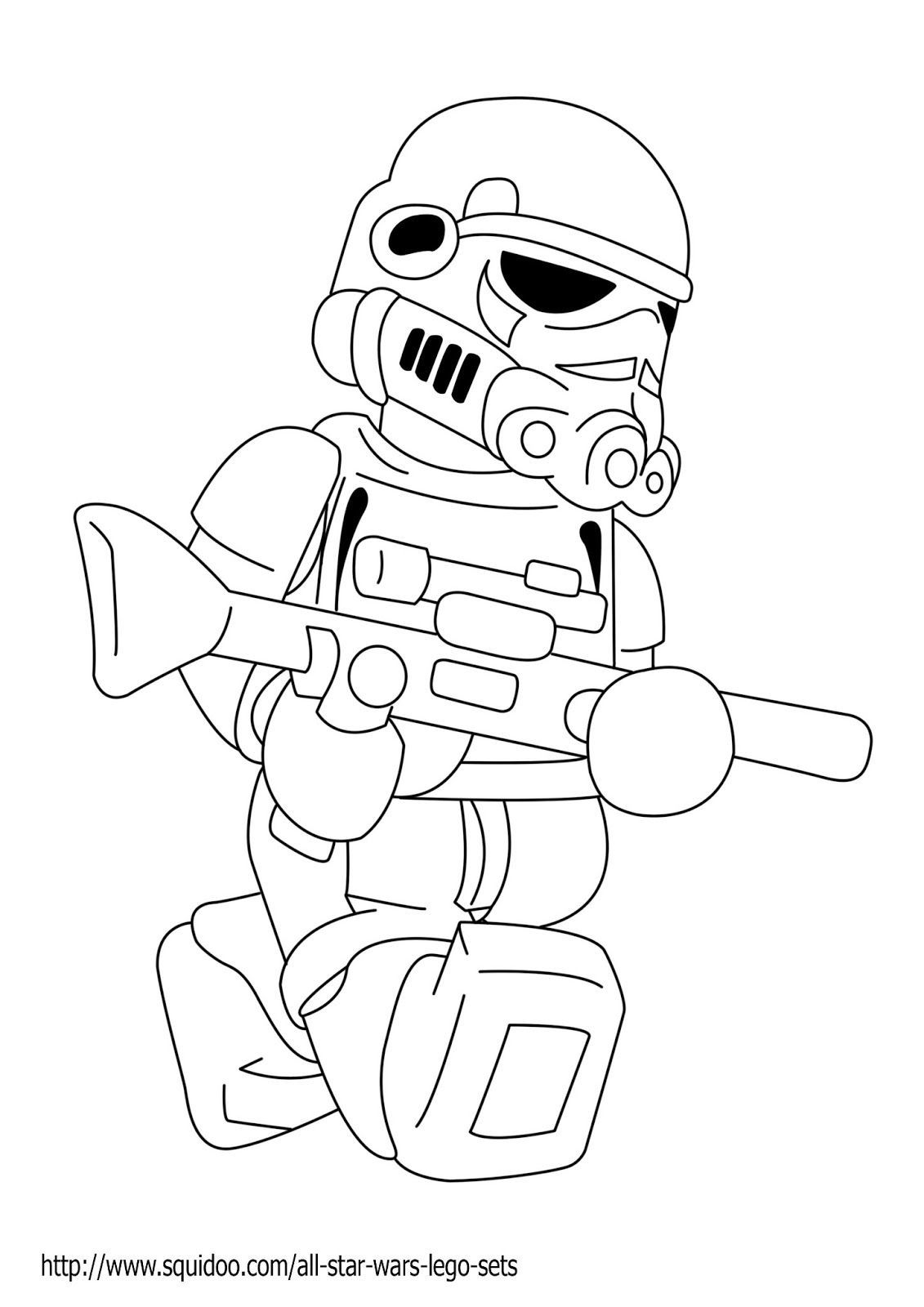 Lego Star Wars Coloring Pages Darth Vader 10