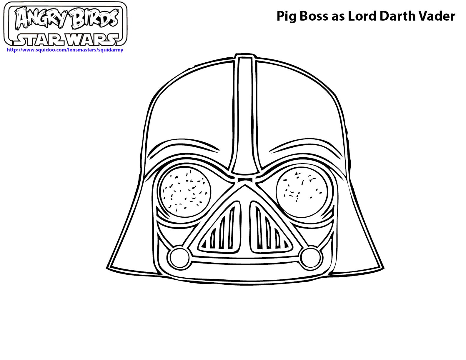 Lego Star Wars Coloring Pages Darth Vader 6
