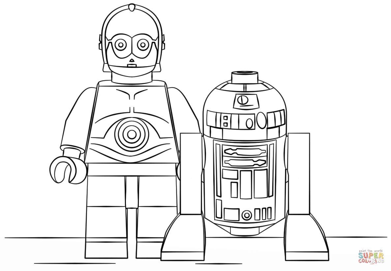 Txt Descargar Lego Star Wars Coloring Pages R2d2 Part 3