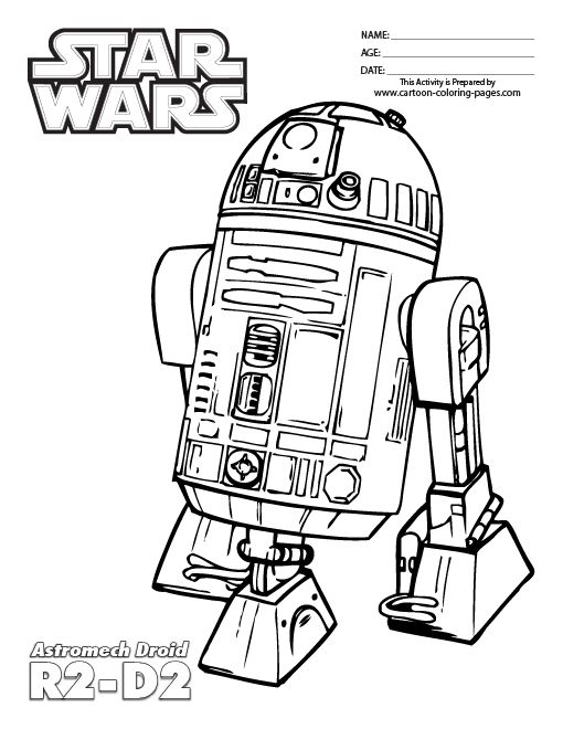 lego star wars coloring pages r2d2 13