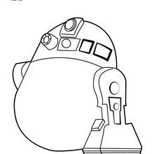 Lego Star Wars Coloring Pages R2D2 14