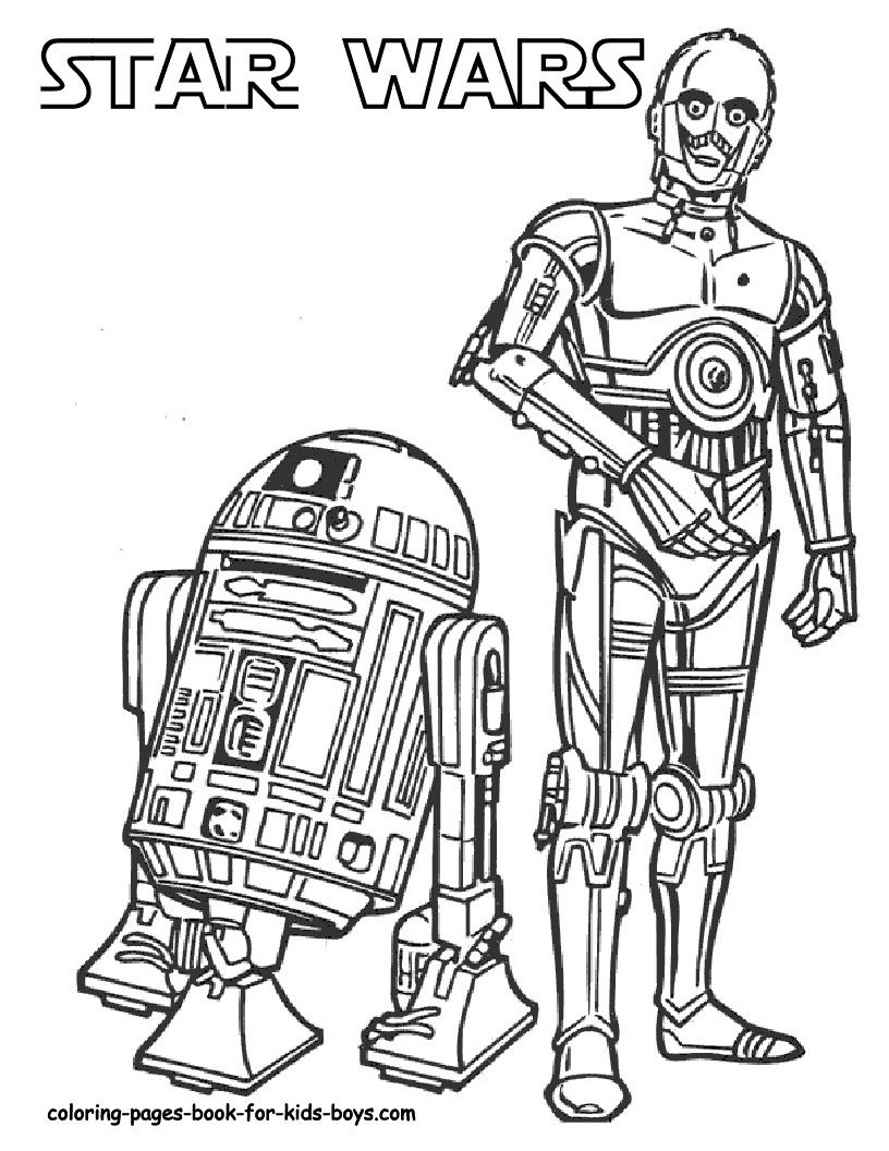 Lego Star Wars Coloring Pages R2D2 7