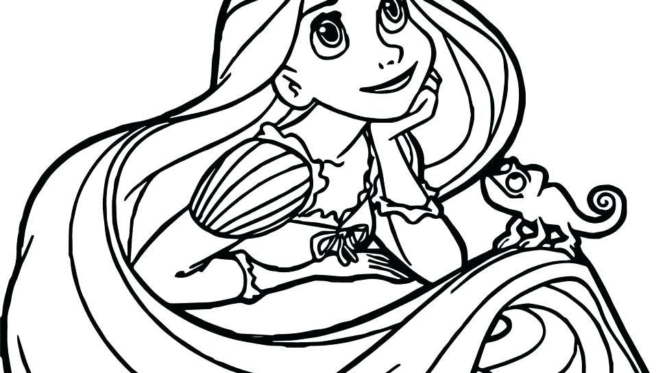 Rapunzel Coloring Pages 24