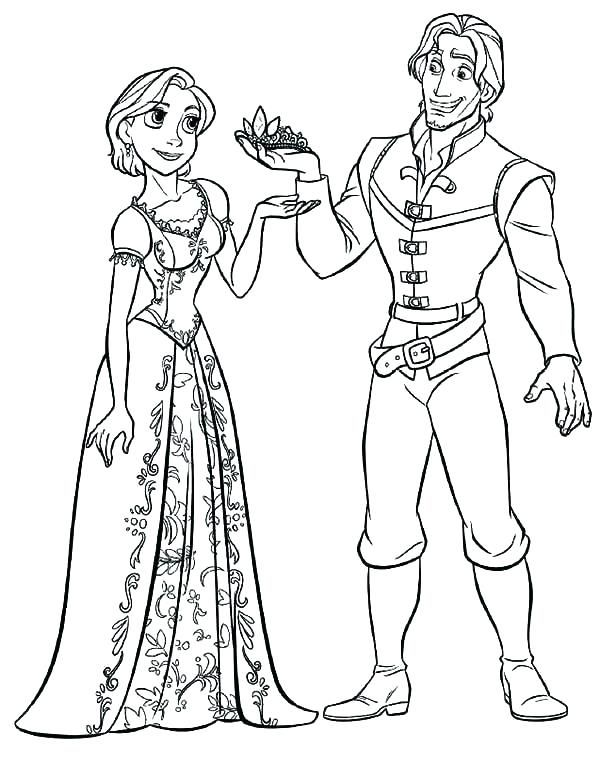 Rapunzel Coloring Pages 32