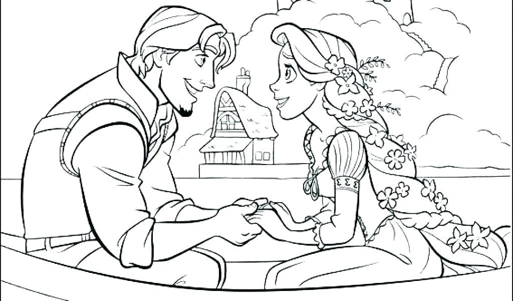 Rapunzel Coloring Pages 35