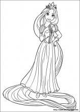 Rapunzel Coloring Pages 49