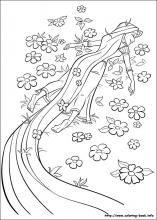 Rapunzel Coloring Pages 50