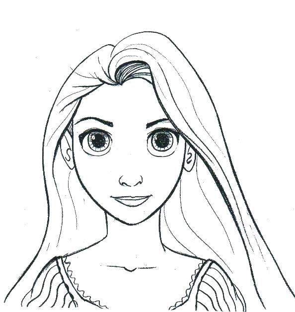 Rapunzel Coloring Pages 56