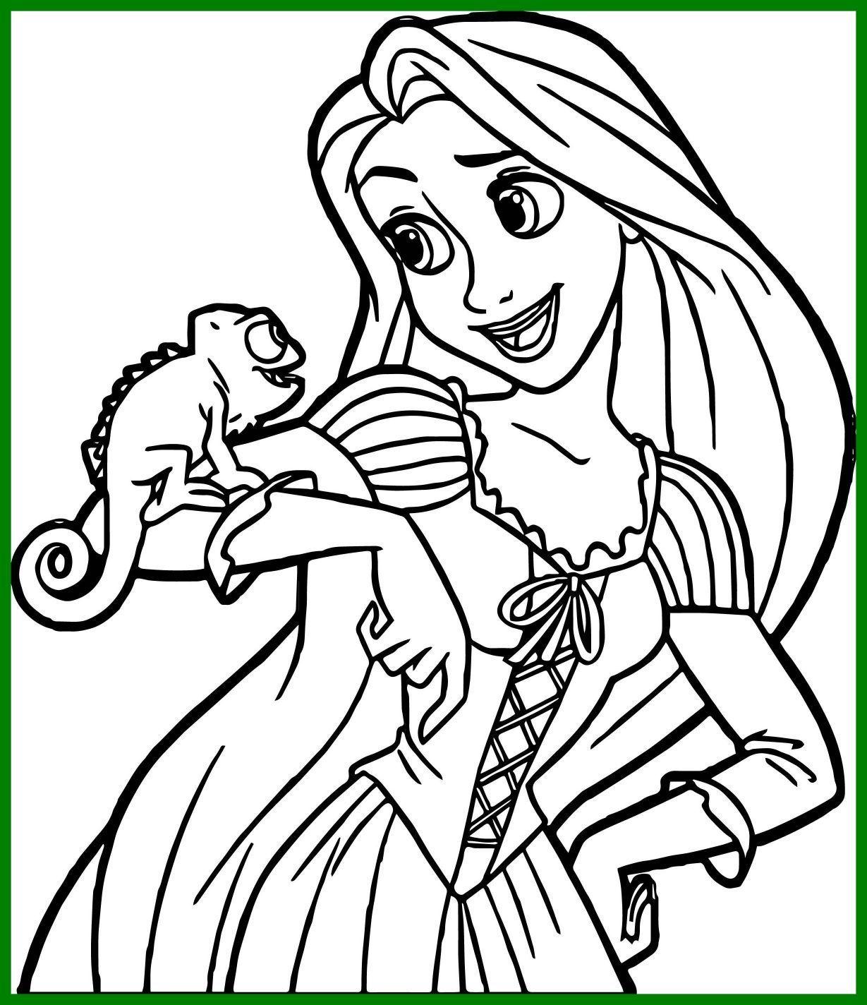 Rapunzel Coloring Pages 64