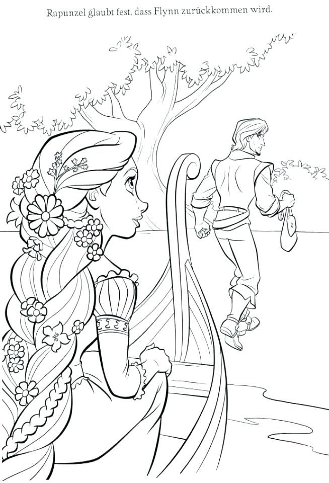 Rapunzel Coloring Pages 71