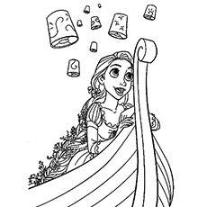 Rapunzel Coloring Pages 84