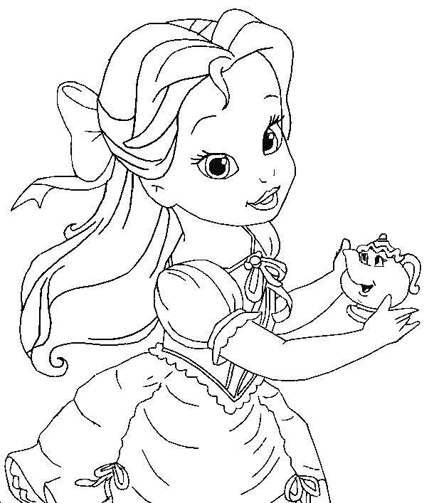 Tô Màu Công Chúa Toc May Rapunzel 11