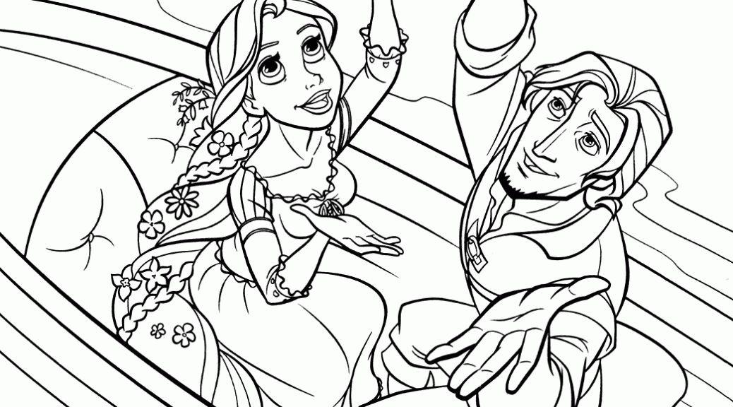 Tô Màu Công Chúa Toc May Rapunzel 23