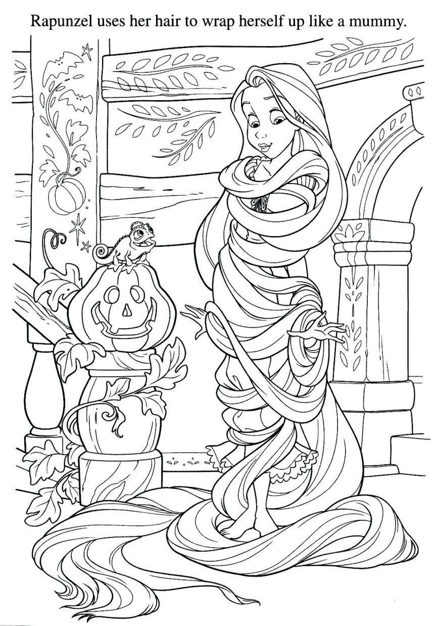 Tô Màu Công Chúa Toc May Rapunzel 49