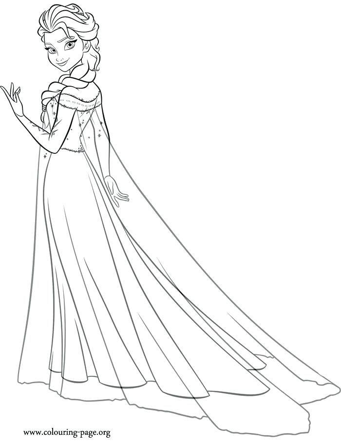 Tranh Tô Màu Công Chúa Elsa 16
