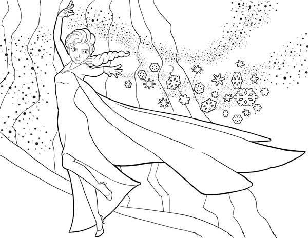 Tranh Tô Màu Công Chúa Elsa 21