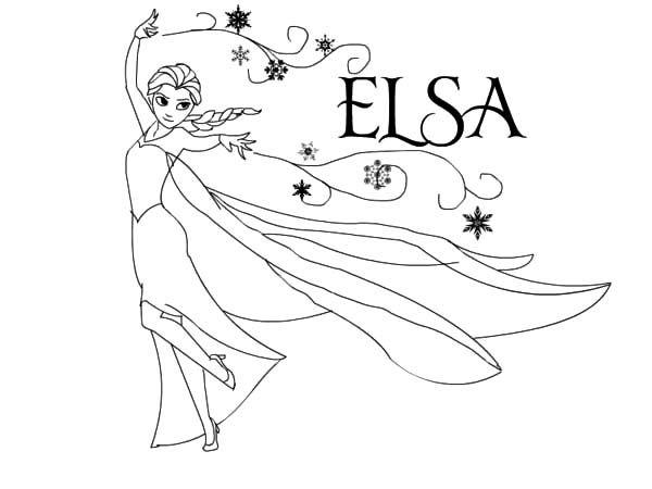 Tranh Tô Màu Công Chúa Elsa 26