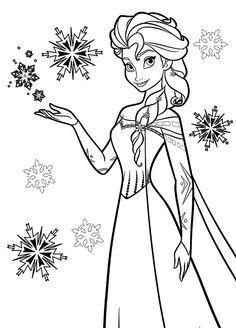 Tranh Tô Màu Công Chúa Elsa 29