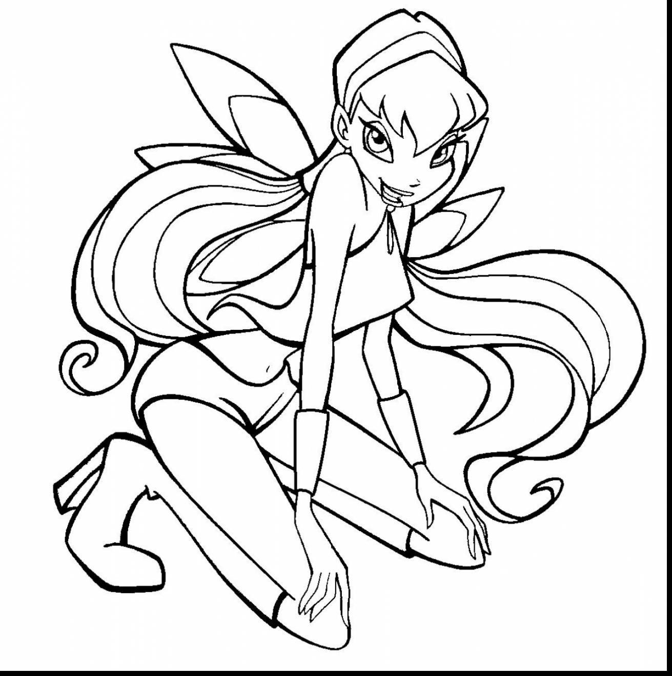 Tranh Tô Màu Công Chúa Phép Thuật Winx - Stella 14