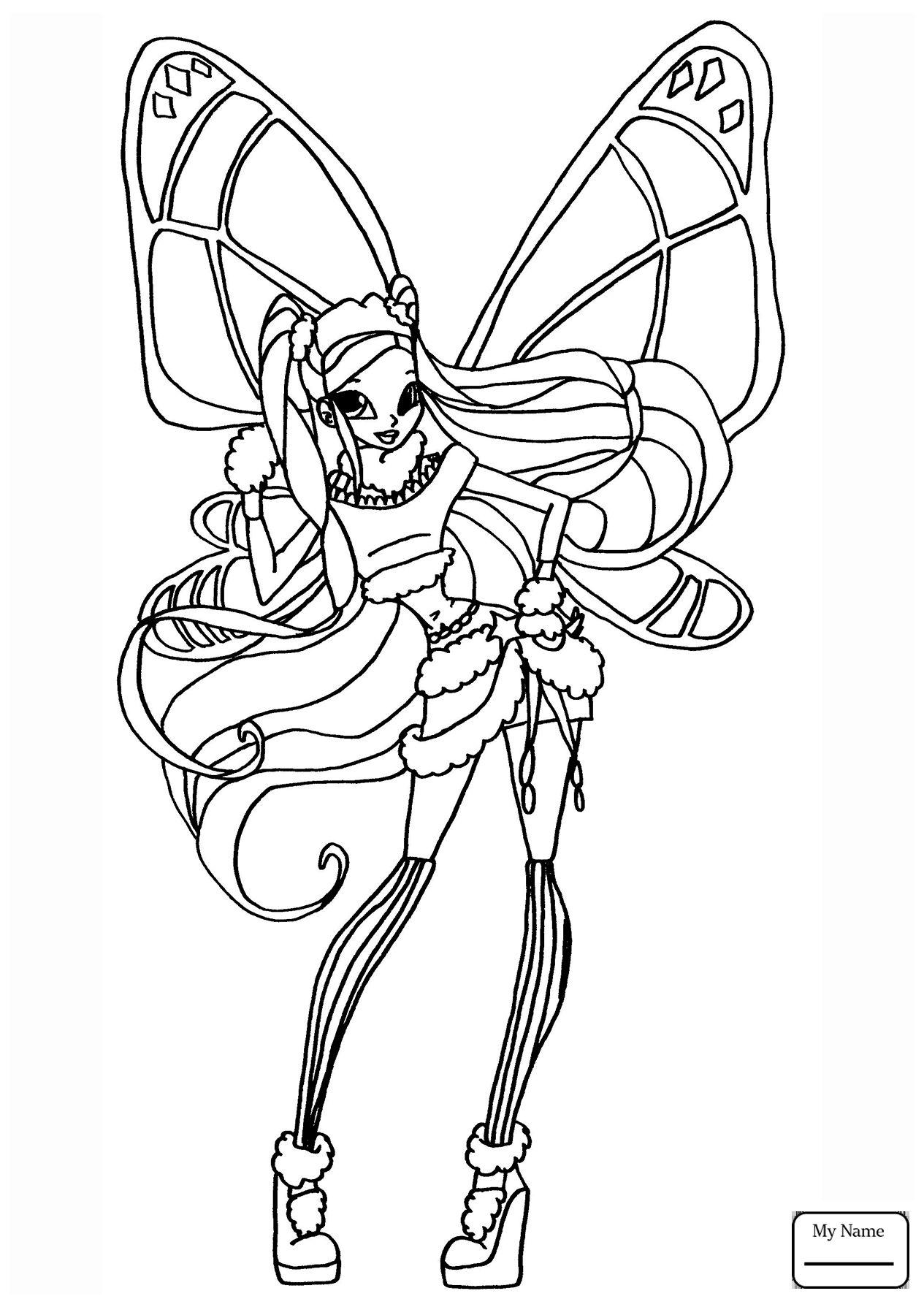 Tranh Tô Màu Công Chúa Phép Thuật Winx - Stella 17