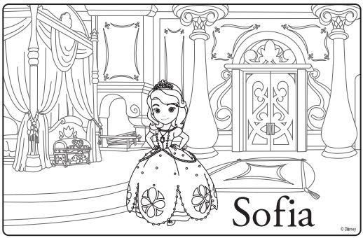 Tranh Tô Màu Công Chúa Sofia 13