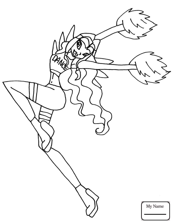 Tranh Tô Màu Công Chúa Winx Layla 3