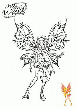 Tranh Tô Màu Công Chúa Winx Layla 48