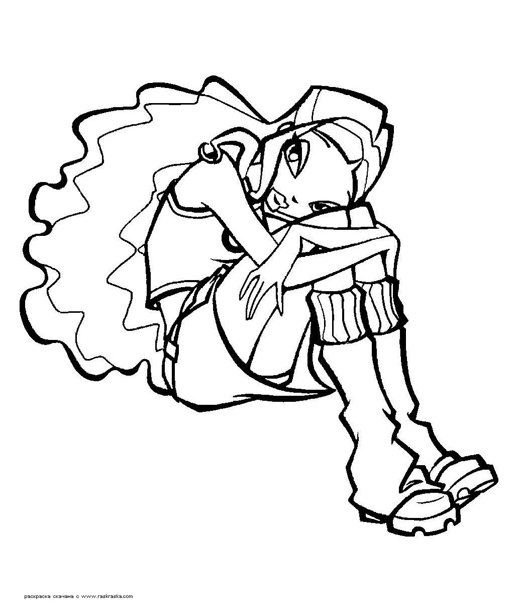 Tranh Tô Màu Công Chúa Winx Layla 55