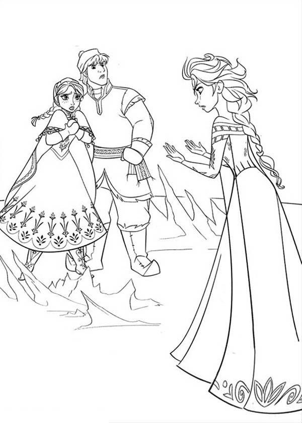 Tranh Tô Màu Elsa Và Anna 6