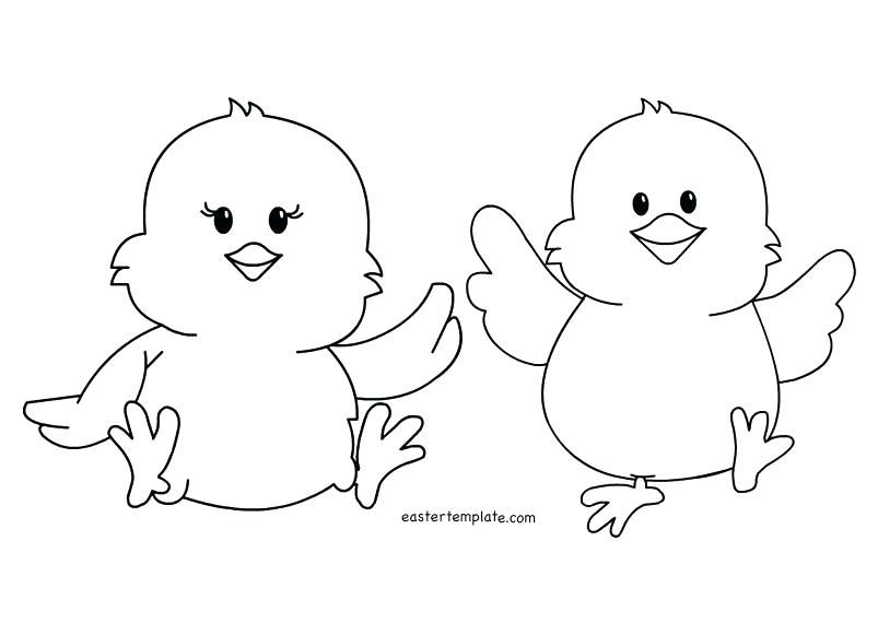 Easter Chicks Coloring Page 31
