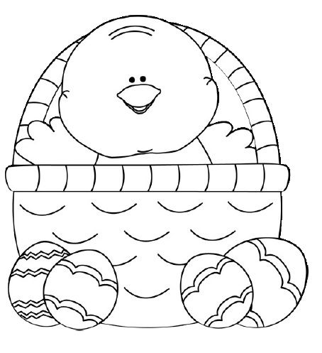Easter Chicks Coloring Page 32