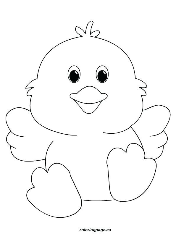 Easter Chicks Coloring Page 34