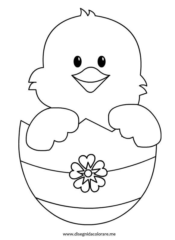 Easter Chicks Coloring Page 35