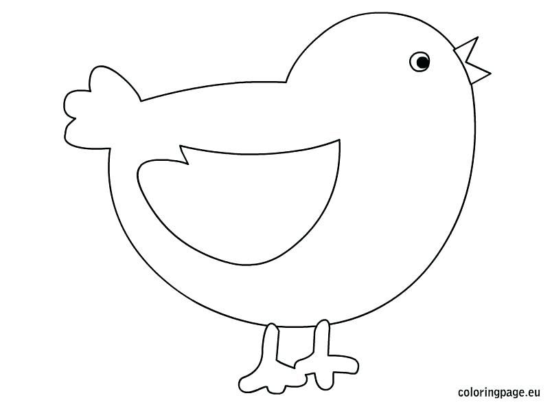Easter Chicks Coloring Page 37
