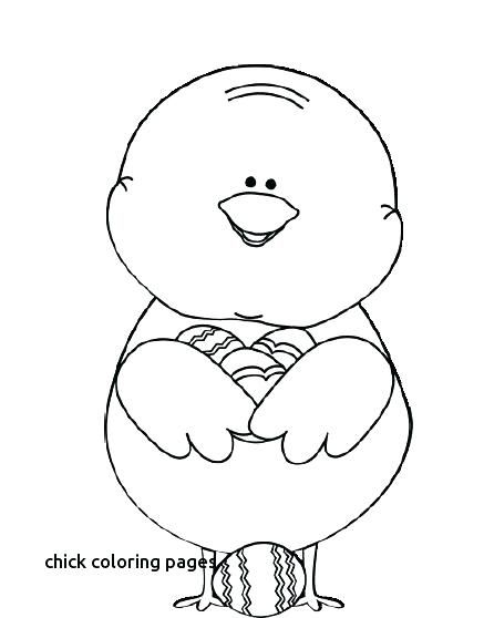 Easter Chicks Coloring Page 38