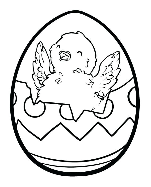 Easter Chicks Coloring Page 47
