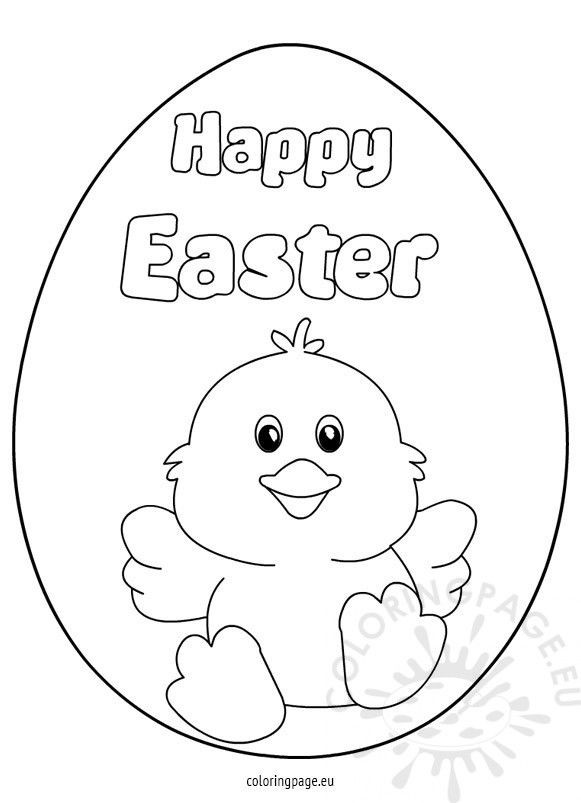 Easter Chicks Coloring Page 52