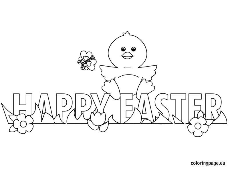 Easter Chicks Coloring Page 58