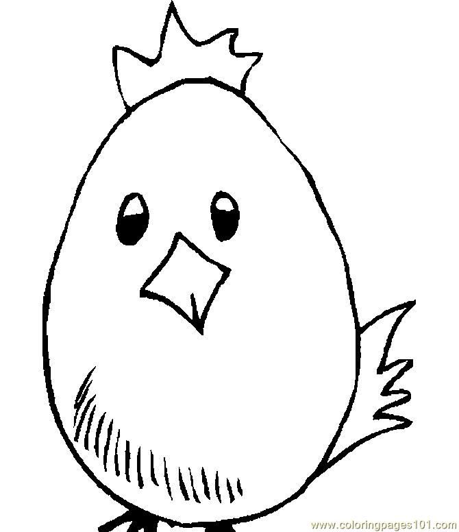 Easter Chicks Coloring Page 62