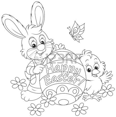 Easter Chicks Coloring Page 64