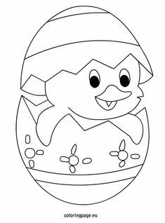 Easter Chicks Coloring Page 65