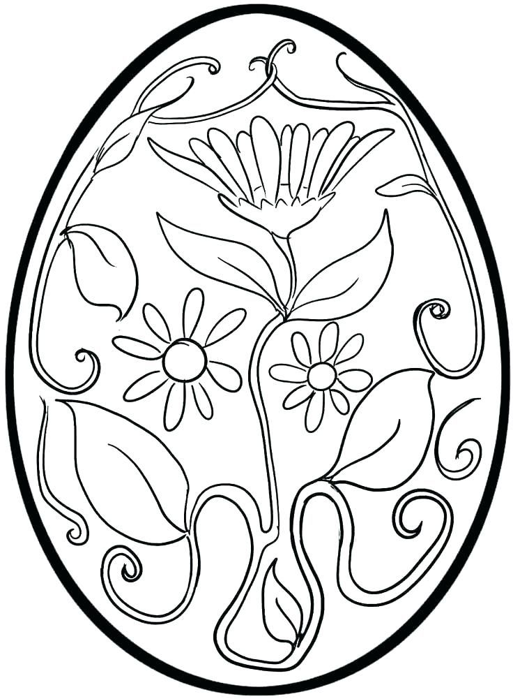 Easter Egg Printable 2