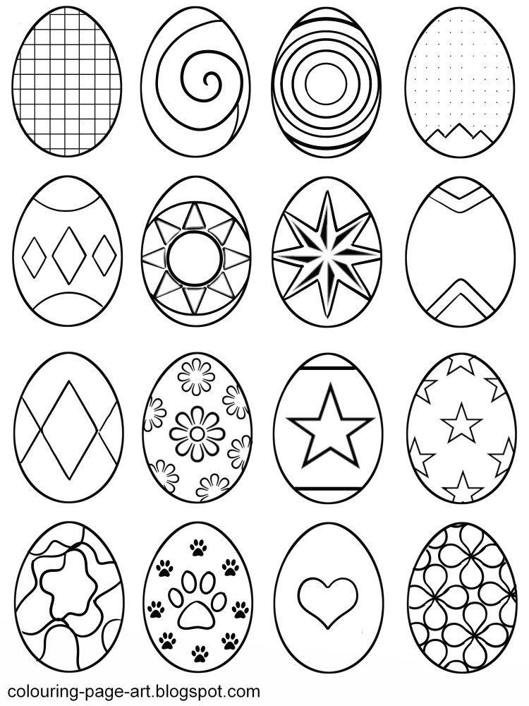 Easter Egg Printable 20