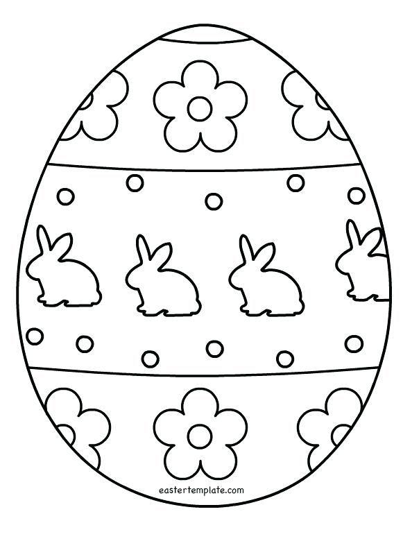 Easter Egg Printable 22
