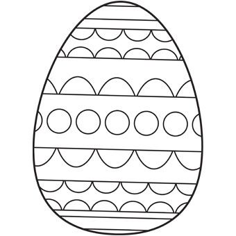 Easter Egg Printable 34