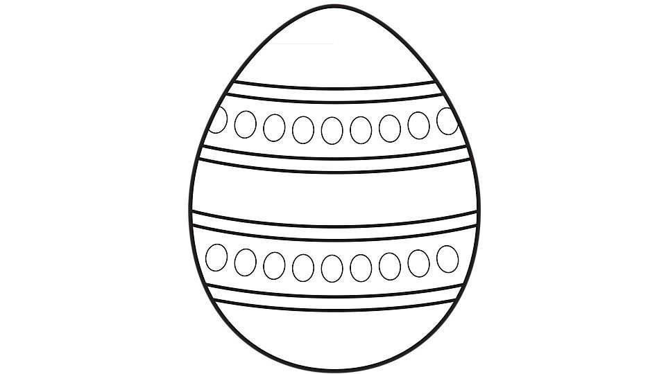 Easter Egg Printable 45