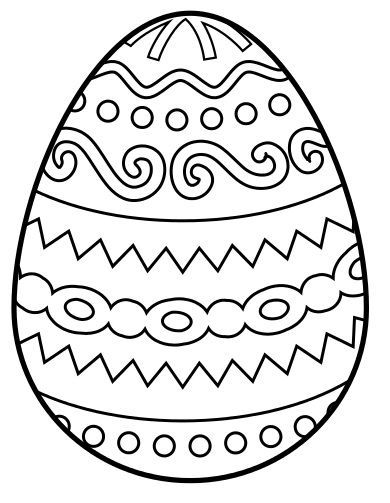 Easter Egg Printable 7