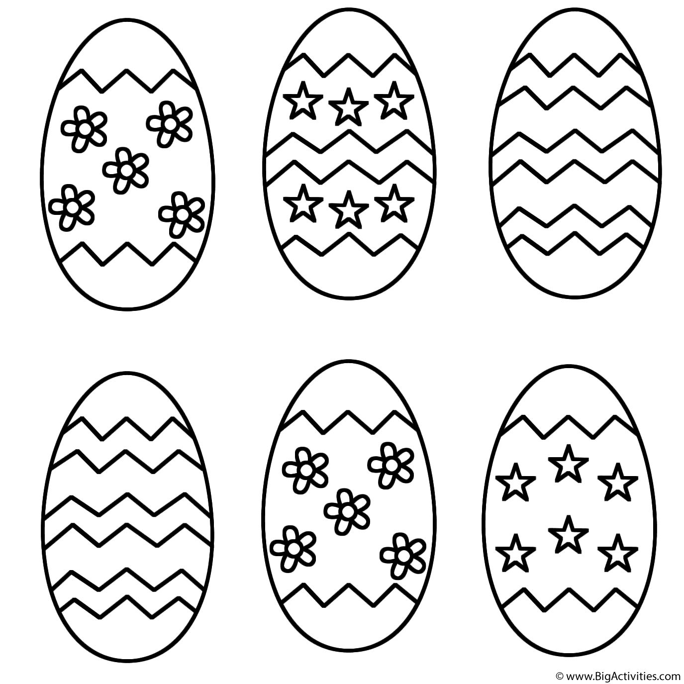 Easter Egg Printable 9