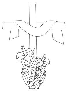Easter Lily Coloring Page 28