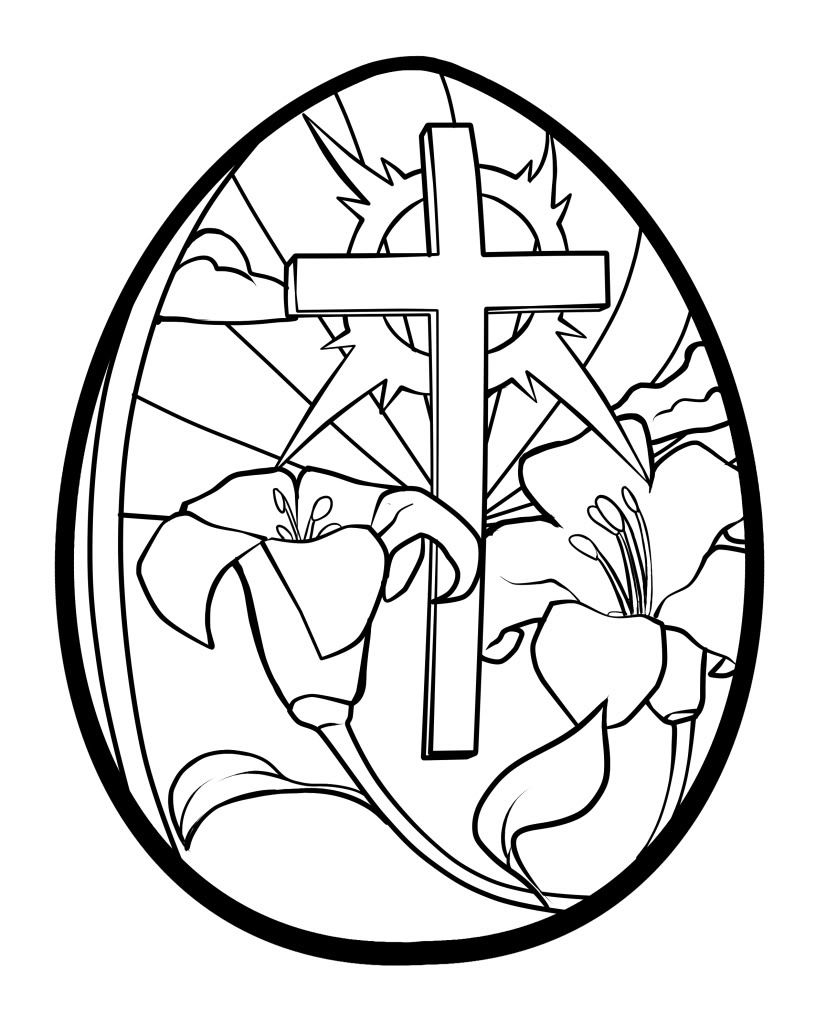 Easter Lily Coloring Page 29